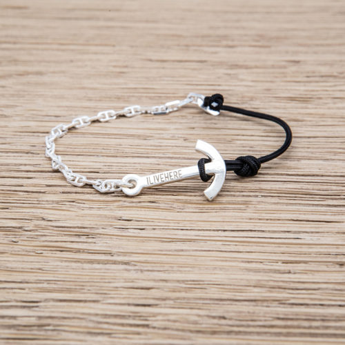 MINI ANCHOR BRACELET / SILVER925