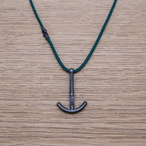 ANCHOR NECKLACE/ SILVER925 /OXIDIZED