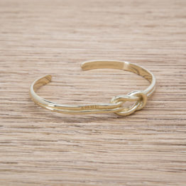 KNOT CUFF / SILVER 925 / GOLD PLATED