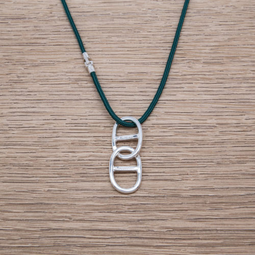 THETA CHAIN NECKLACE / SILVER 925